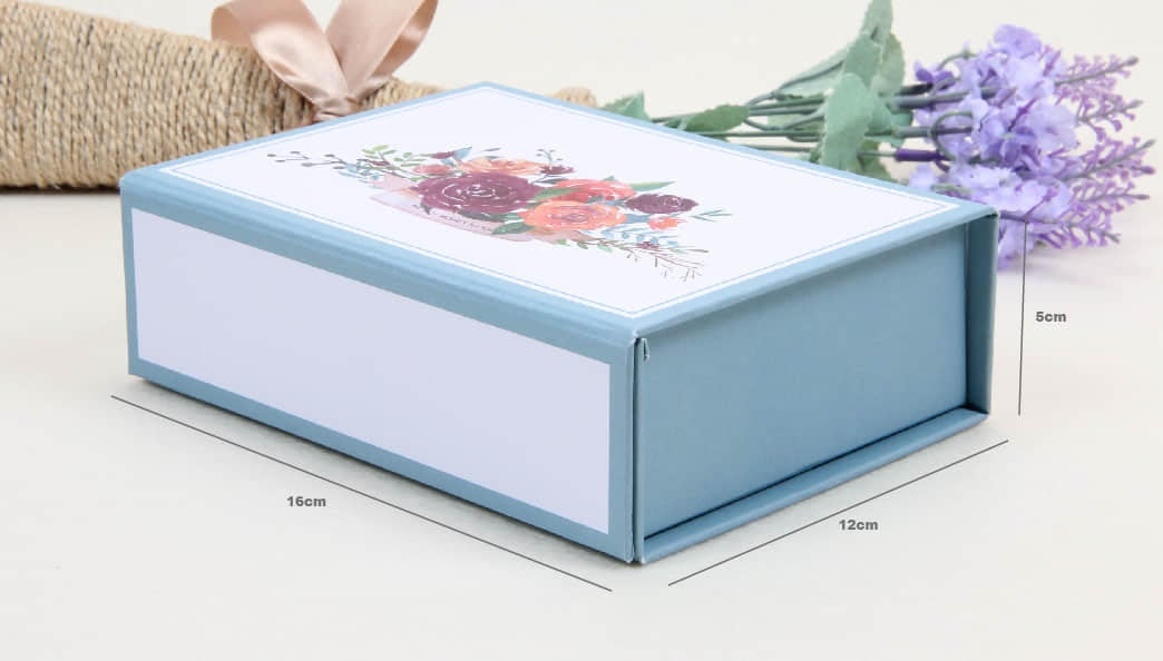 Adorable Snap Folding Paper Boxes With Magnetic Closure Size