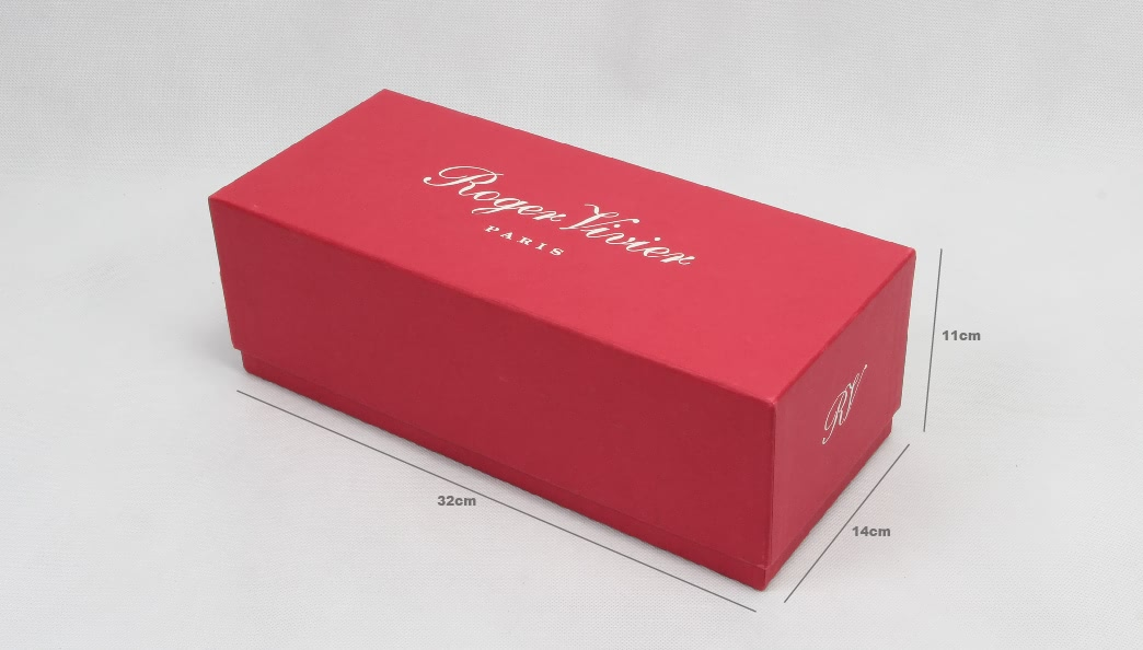 Coated Paper Shoe Packaging Boxes Size