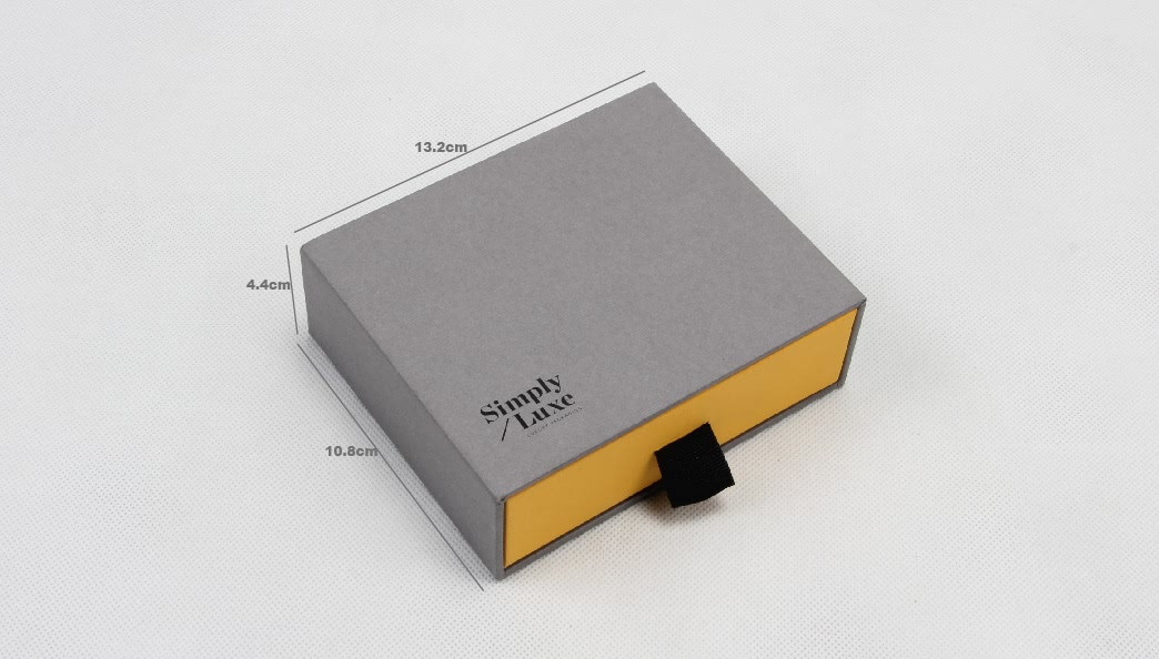 Simple Luxury Gift Packaging Boxes Size