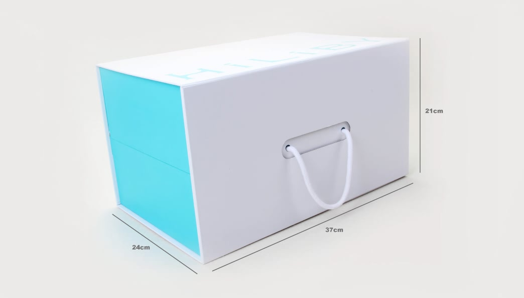 Folding Double-Layer Electronic Products Box Size