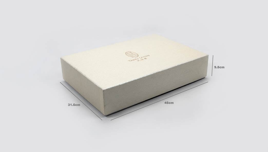 Large Fancy Home Textile Packaging Boxes Size