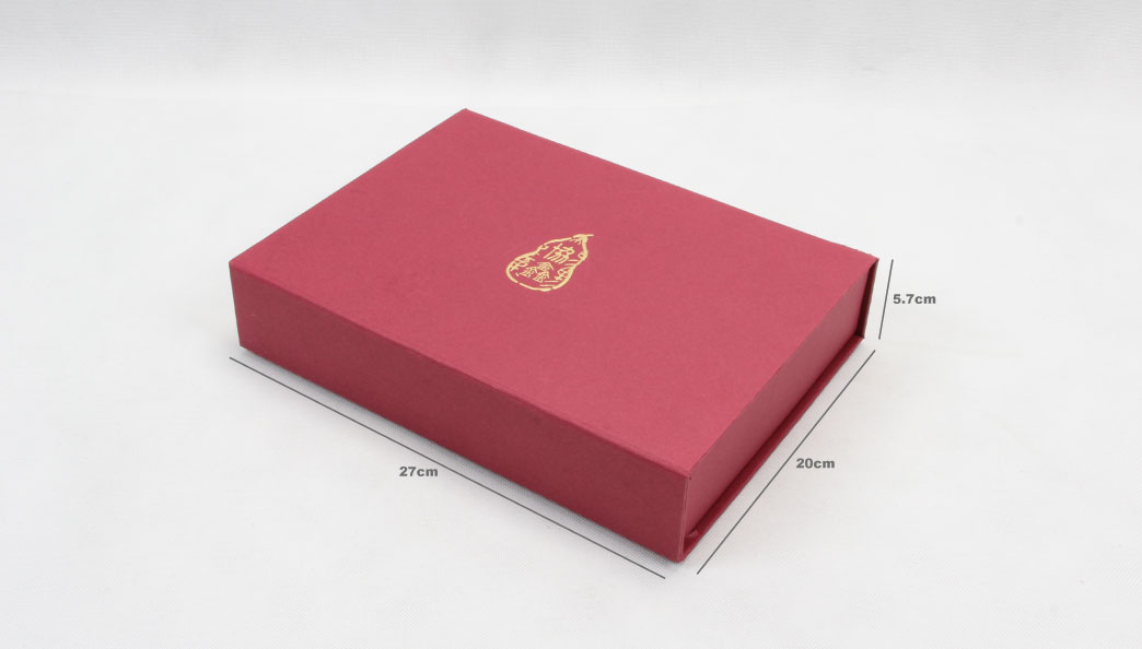 Luxury Scarf Gift Folding Boxes With Magnets Size