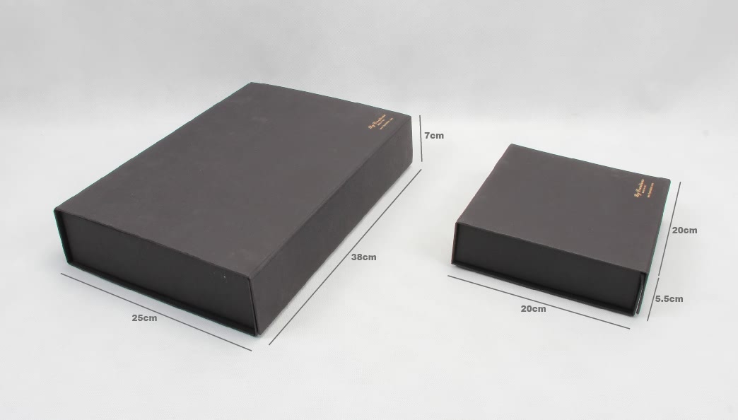 Luxury Special Folding Gift Boxes Set Size