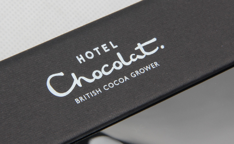 Black Chocolate Packaging Gift Boxes Set Logo