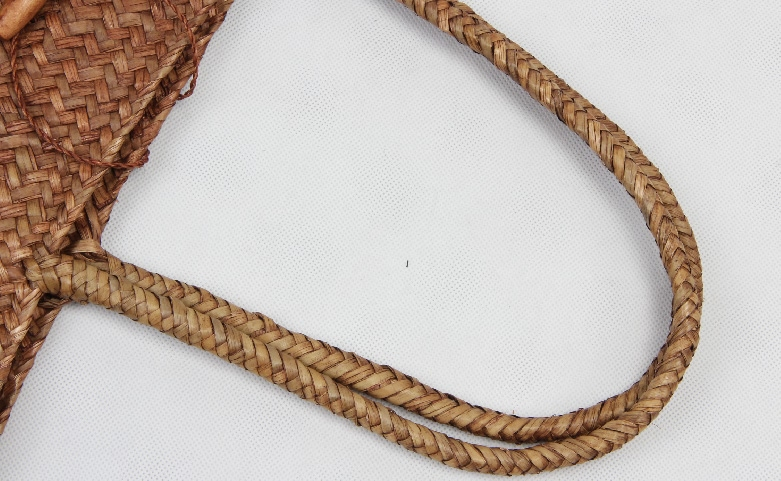 Casual Woven Straw Beach Bags Handle