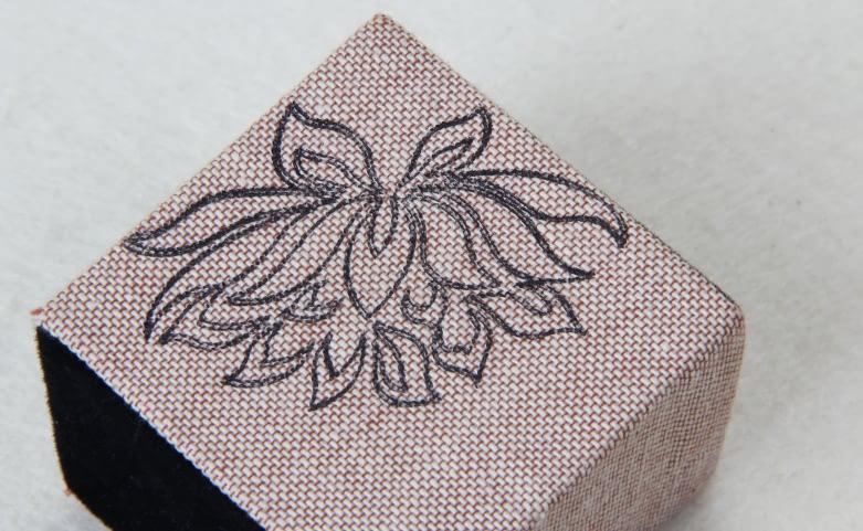 Floral Pattern Jewelry Boxes Set Print