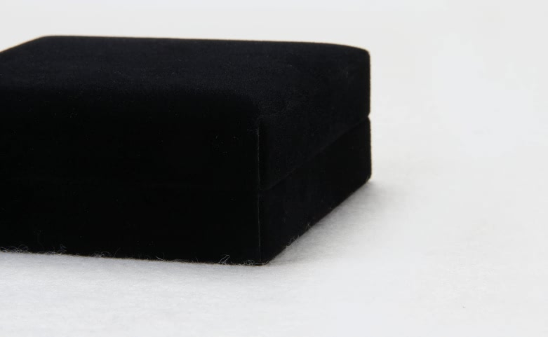 Black Flannel Jewelry Boxes Material