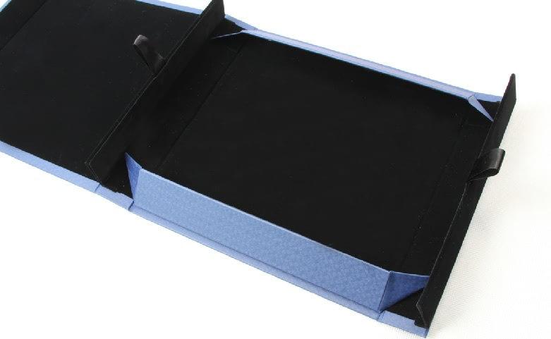 Century Brand Deep Blue Scarf boxes Style