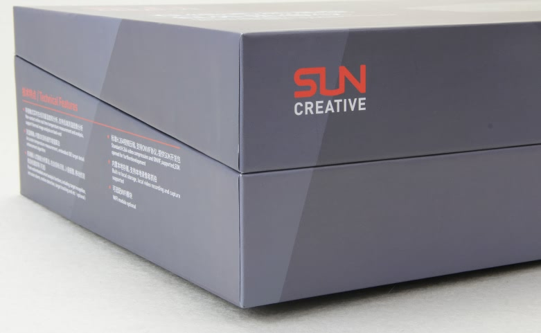 Grey Flip Electronic Products Box Technique