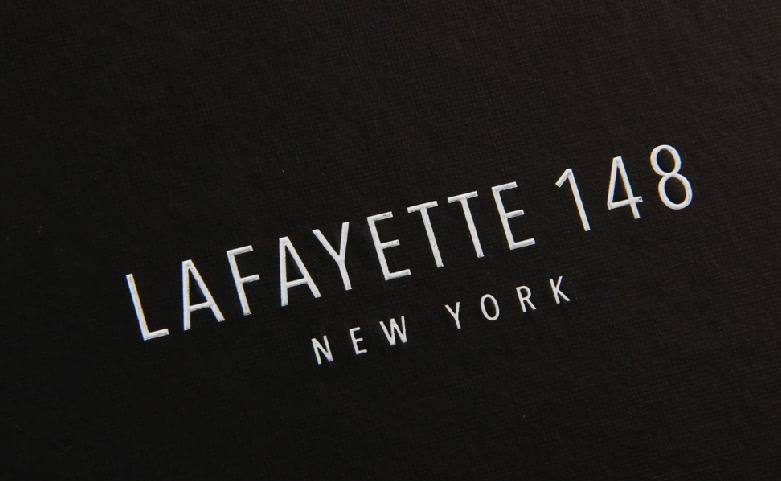 Lafayeite 148 Shirt Packaging Boxes Logo