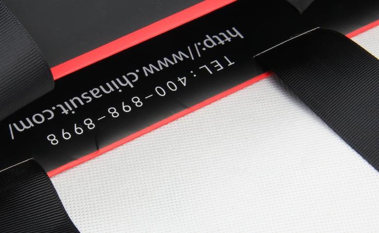 Luxury Black Garment Boxes&Bags Set Detail