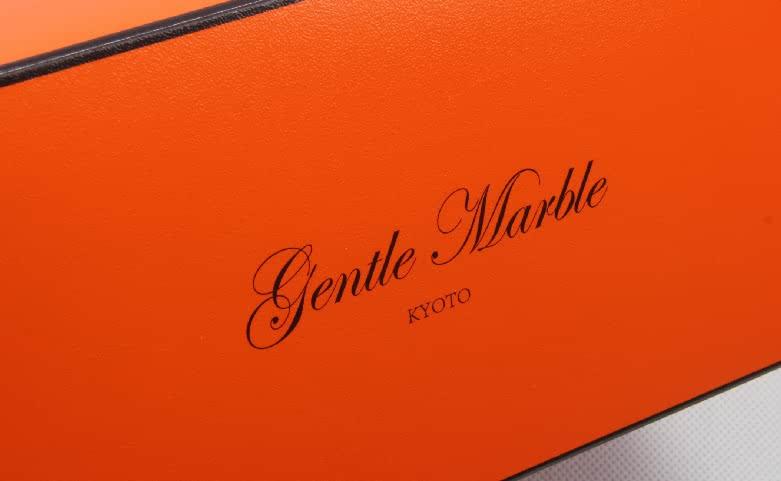Bright Orange Gift Packaging Boxes Logo