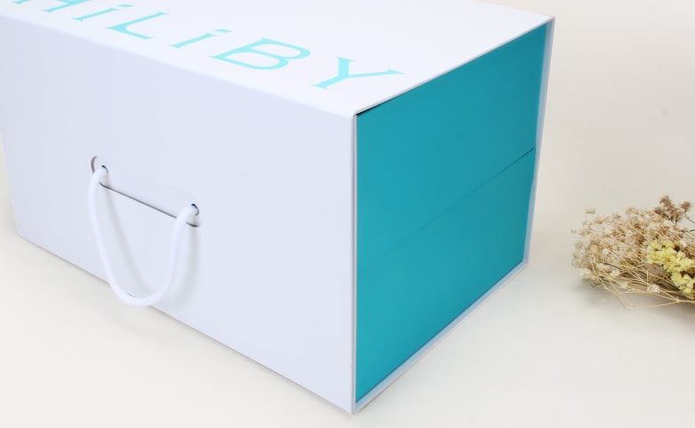 Folding Double-Layer Electronic Products Box Side