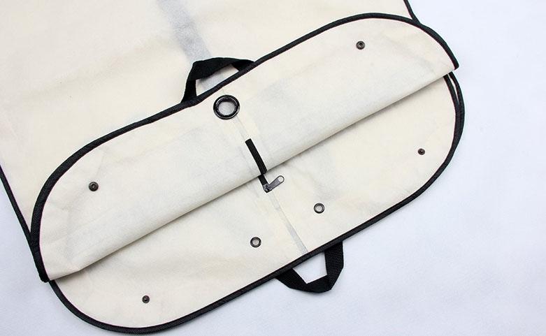 Reusable Transparent Garment PE Tote Bags Technique