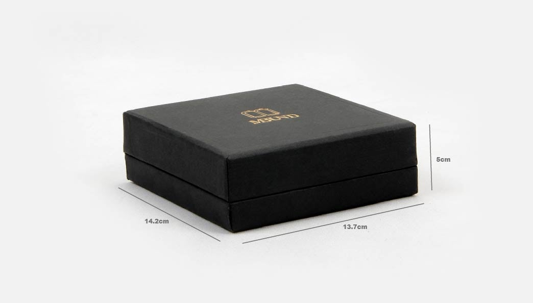 Black Jewelry Boxes With Lids Size