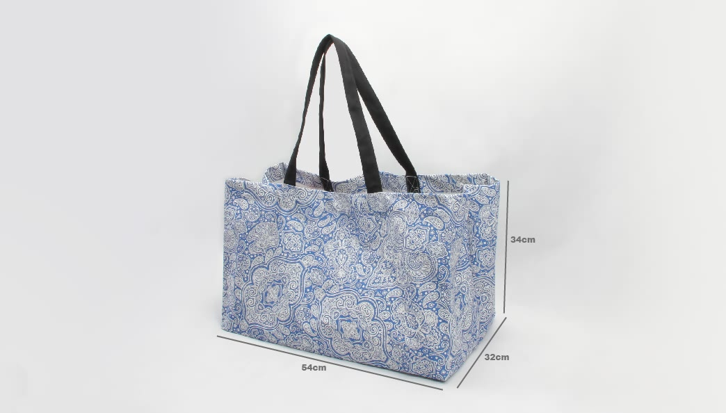 Fresh Bohemian Style Canvas Tote Bags size