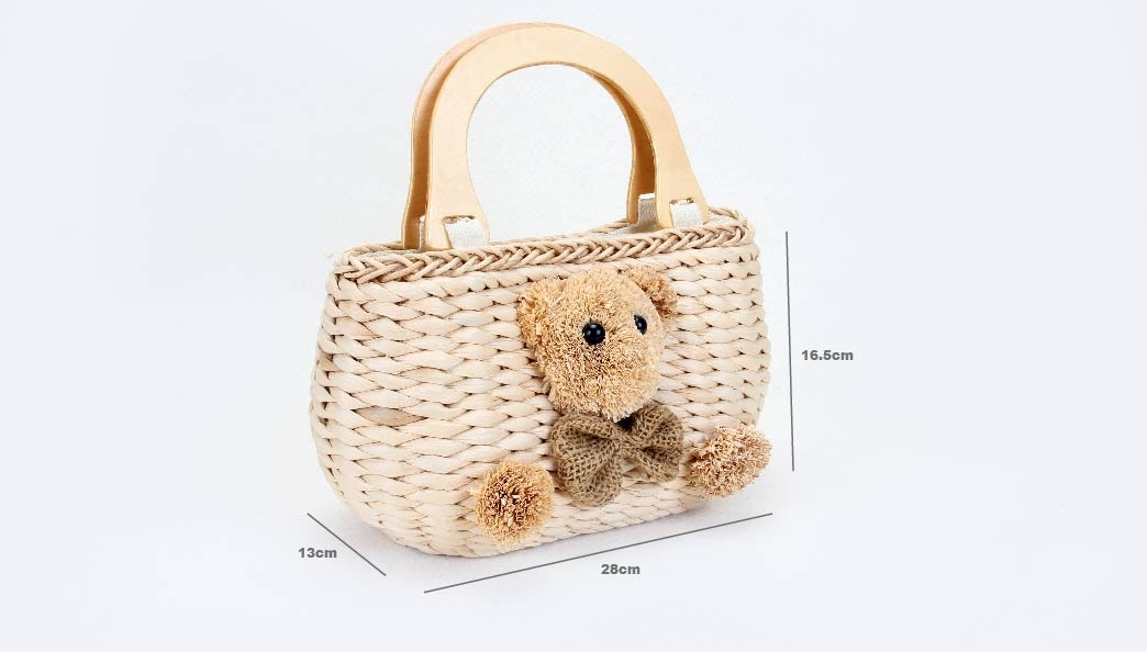 Lovely Woven Beach Bags size
