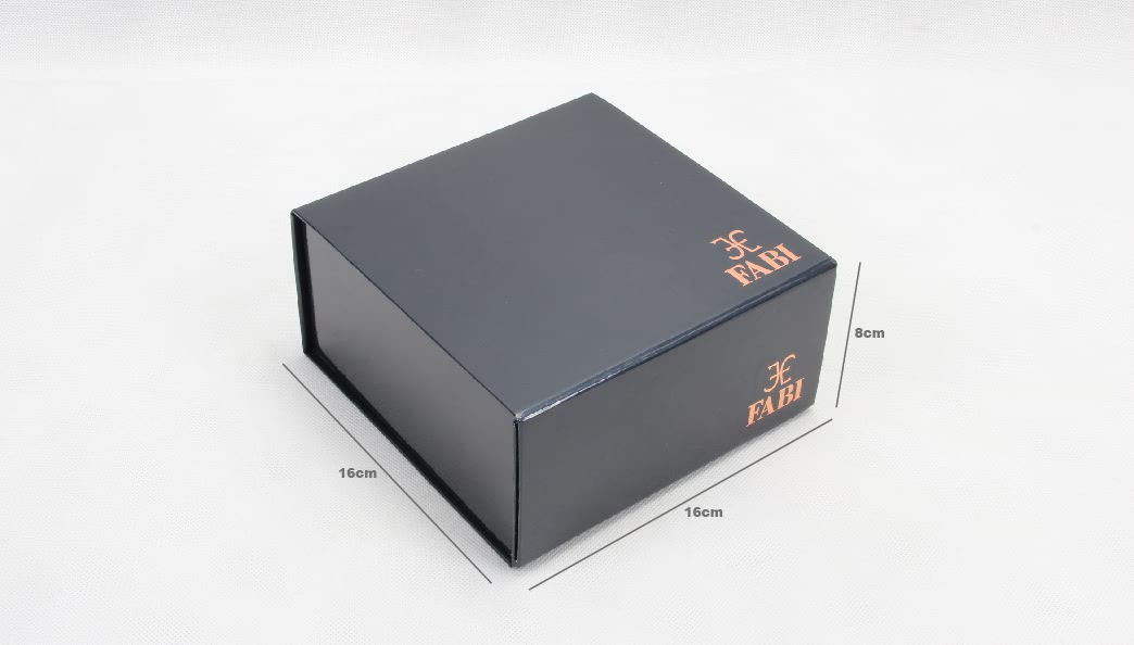 Luxury Jewelry Packaging Folding Boxes size
