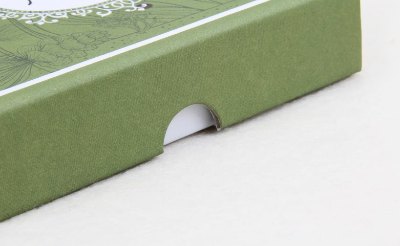 Grass Green Aromatherapy Packaging Boxes detail