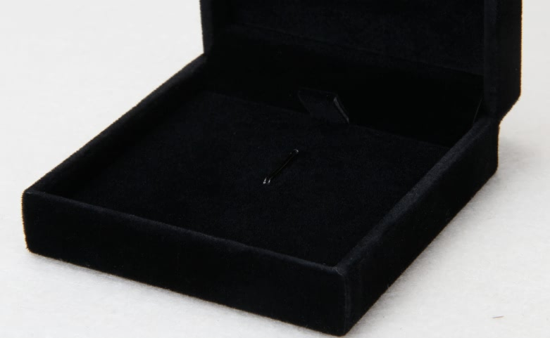Black Flannel Jewelry Boxes lining