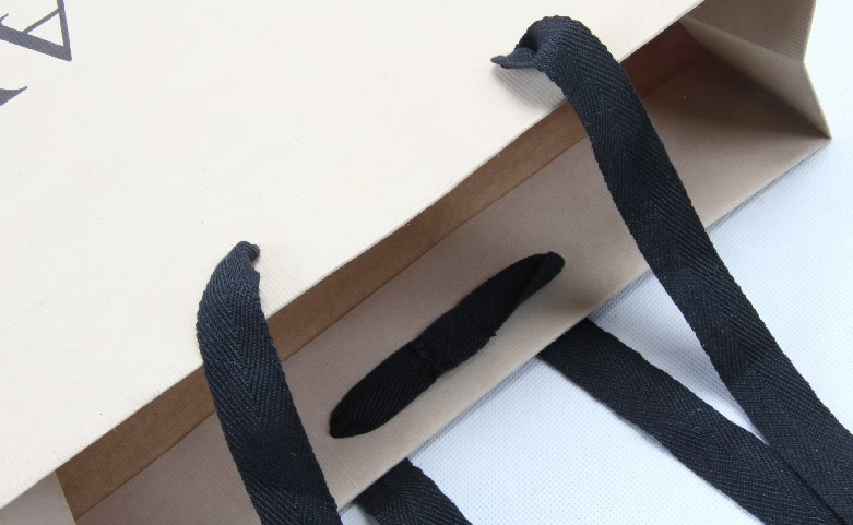 Brand Jeans Shopping Bags handle