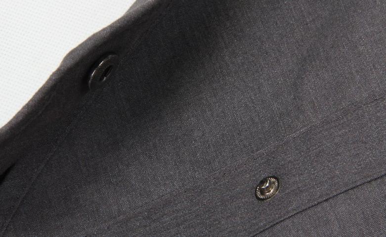 Dark Grey Busniess Suit Cover Bags detail