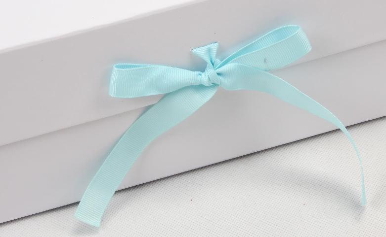Exclusive Folding Garment Boxes With Ribbon ribbon
