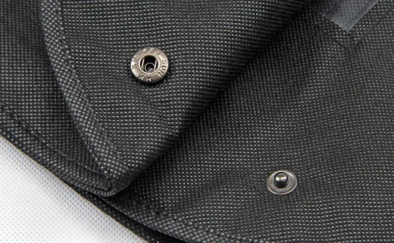 Black Non-woven Garment Suit Cover Bags detail