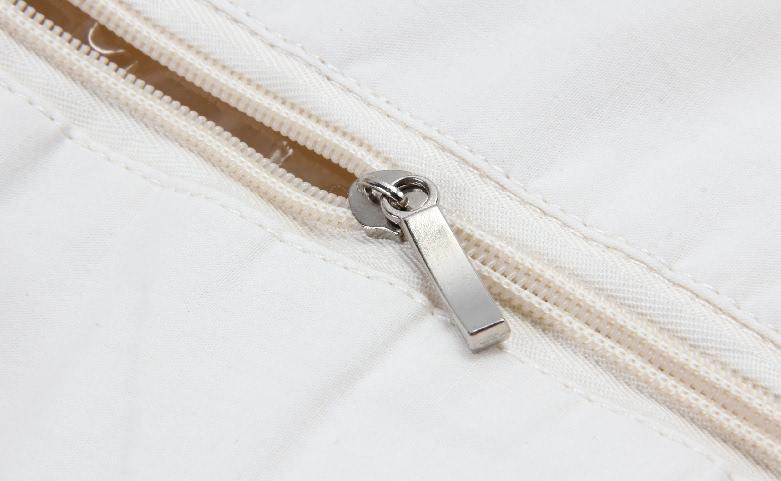 Flower Garland Canvas Tote Bags Handbags With Zipper Closure detail