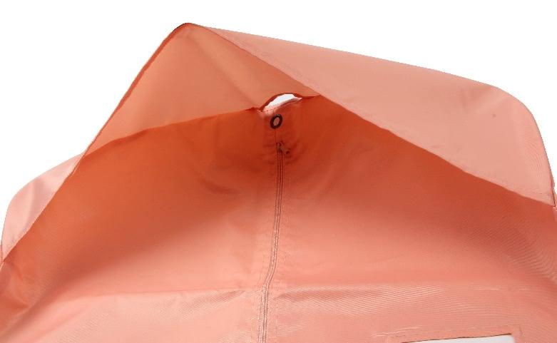 Polyester Women Garment Dress Bags material