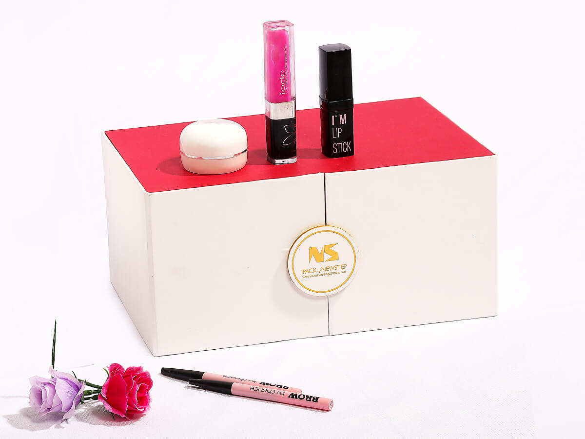 Beauty Makeup Calendar Packaging Gift Boxes Corner Detail