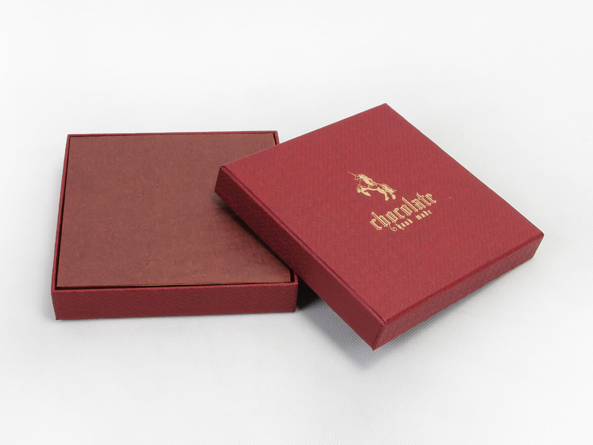 Black Chocolate Packaging Boxes