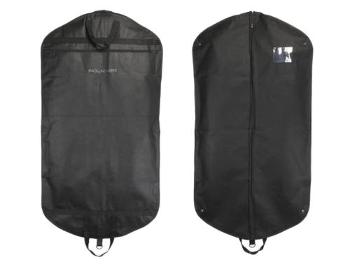 Black Non-woven Garment Suit Bags