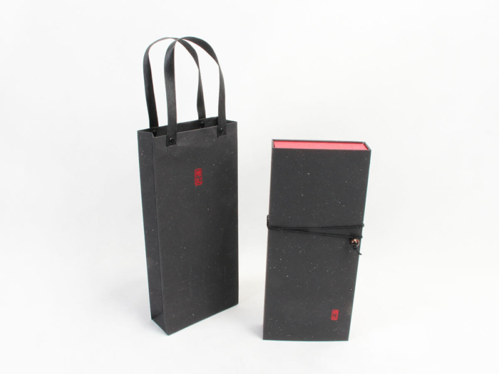 Black Tea Gift Boxes and Tote Bags