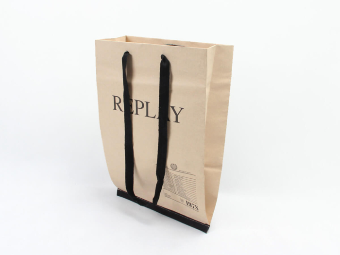 Brand Jeans Shopping Bags