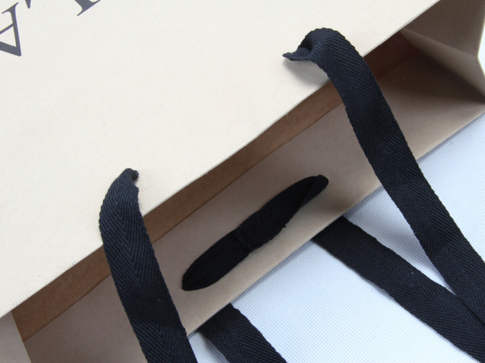 Brand Jeans Shopping Bags Ribbons