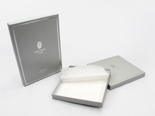 Brand Silk Scarf Gift Boxes With Hot-stamping LOGO