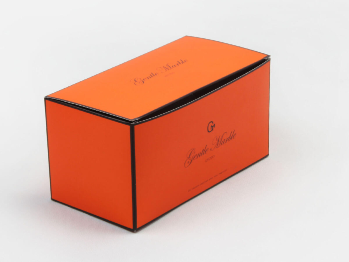 Bright Orange Gift Packaging Boxes