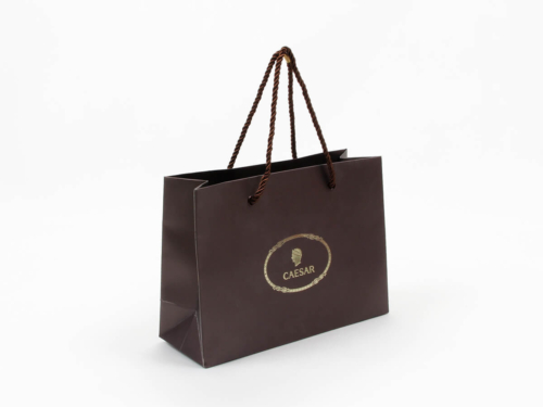 Brown Chocolate Shopping Paper Bags