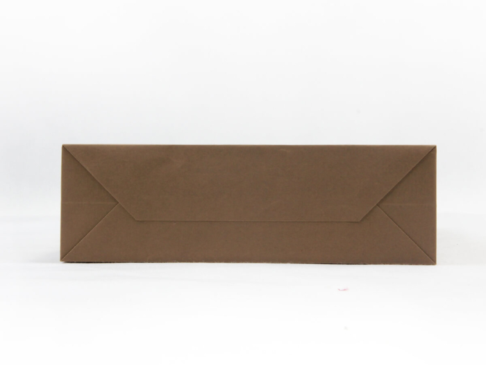 Brown Kraft Garment Paper Carrier Bags Bottom