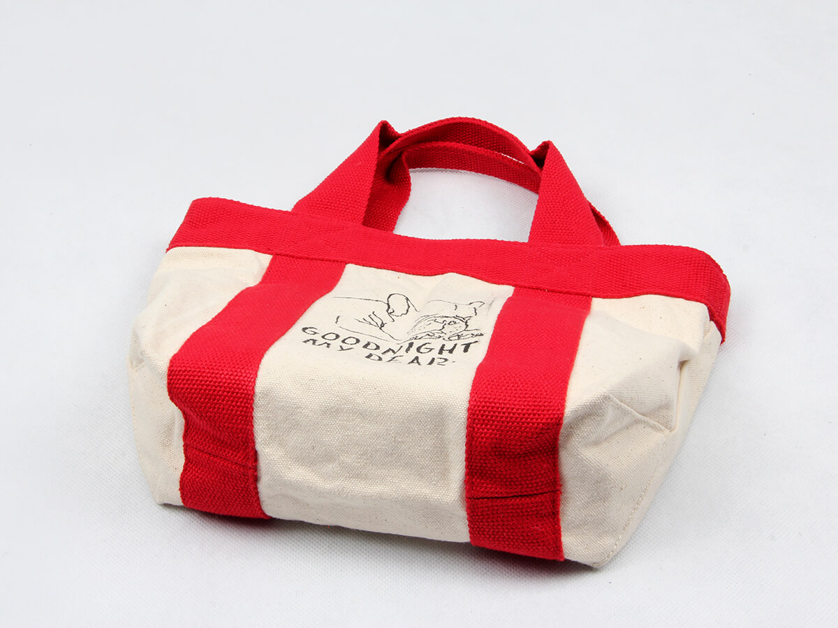 Canvas Food Picnic Lunch Bags Bottom Detail
