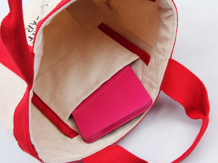 Canvas Food Picnic Lunch Bags Material