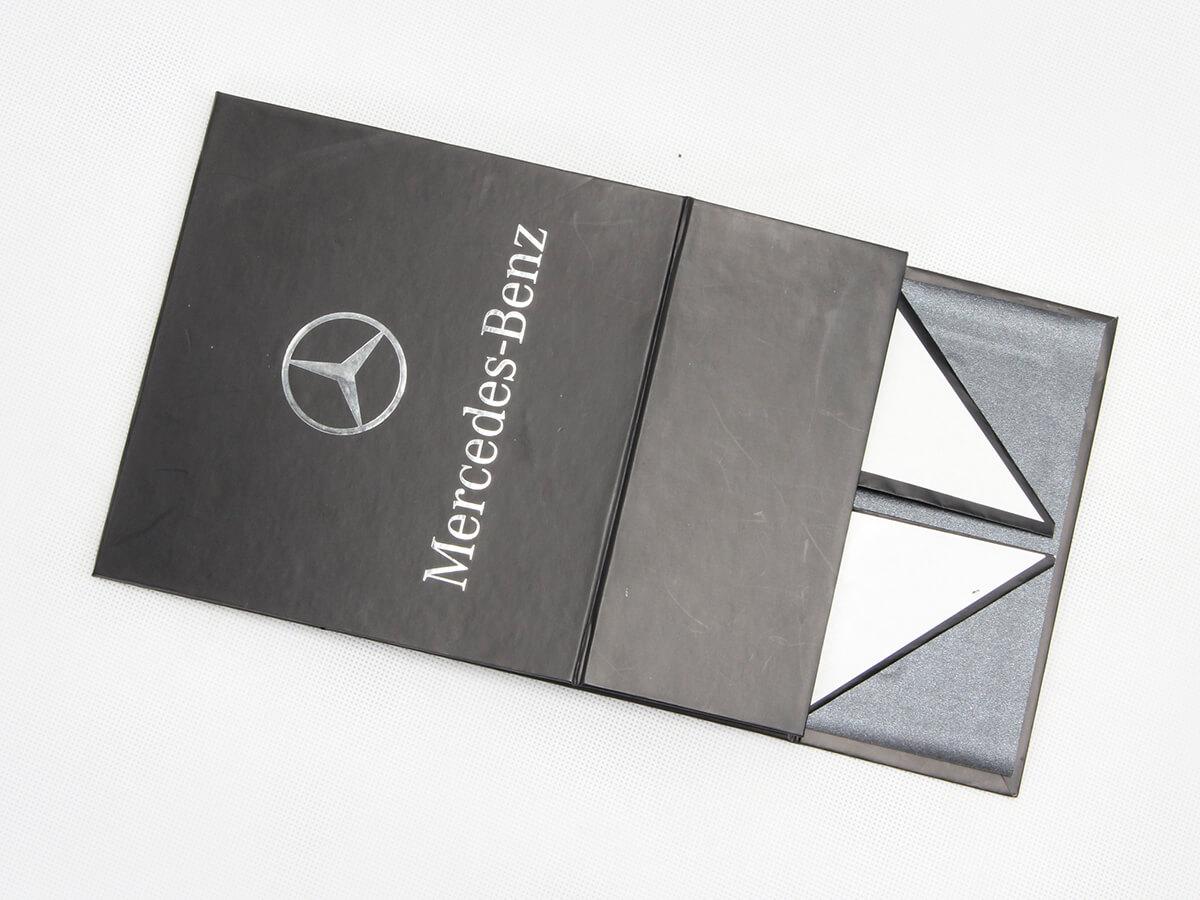 Car Key Gift Packaging Boxes Folding Way