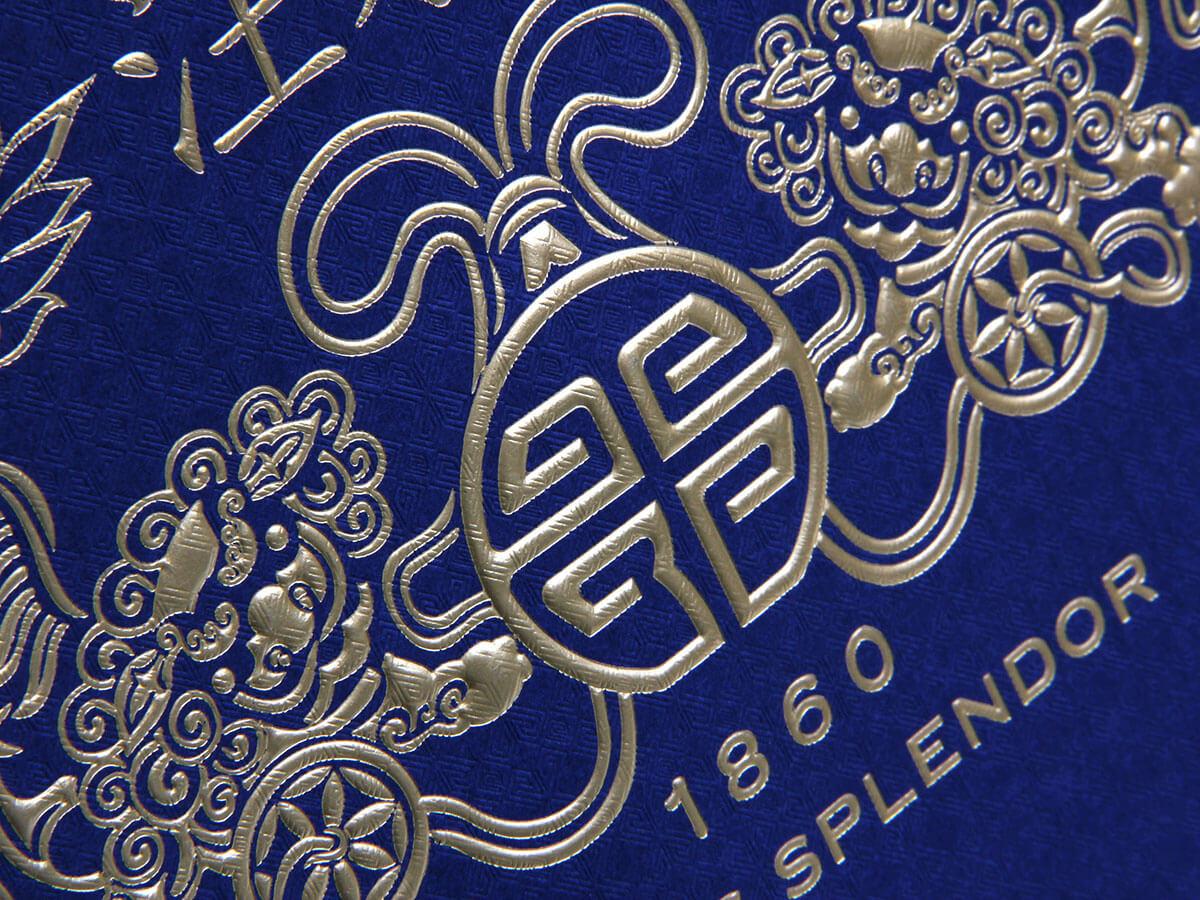 Century Brand Scarves Envelope Shopping Bags Hot Sampling Detail