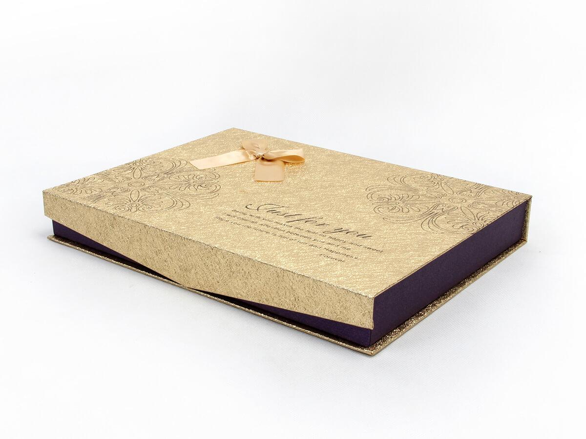 Chocolate Gift Boxes Corner Detail