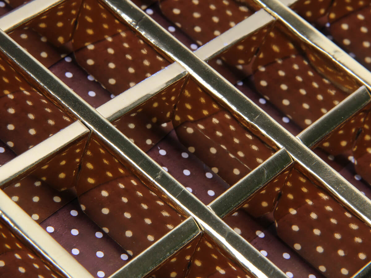 Chocolate Gift Boxes Lining Material