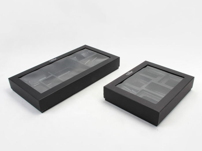Chocolate Packaging Boxes Set Side Display