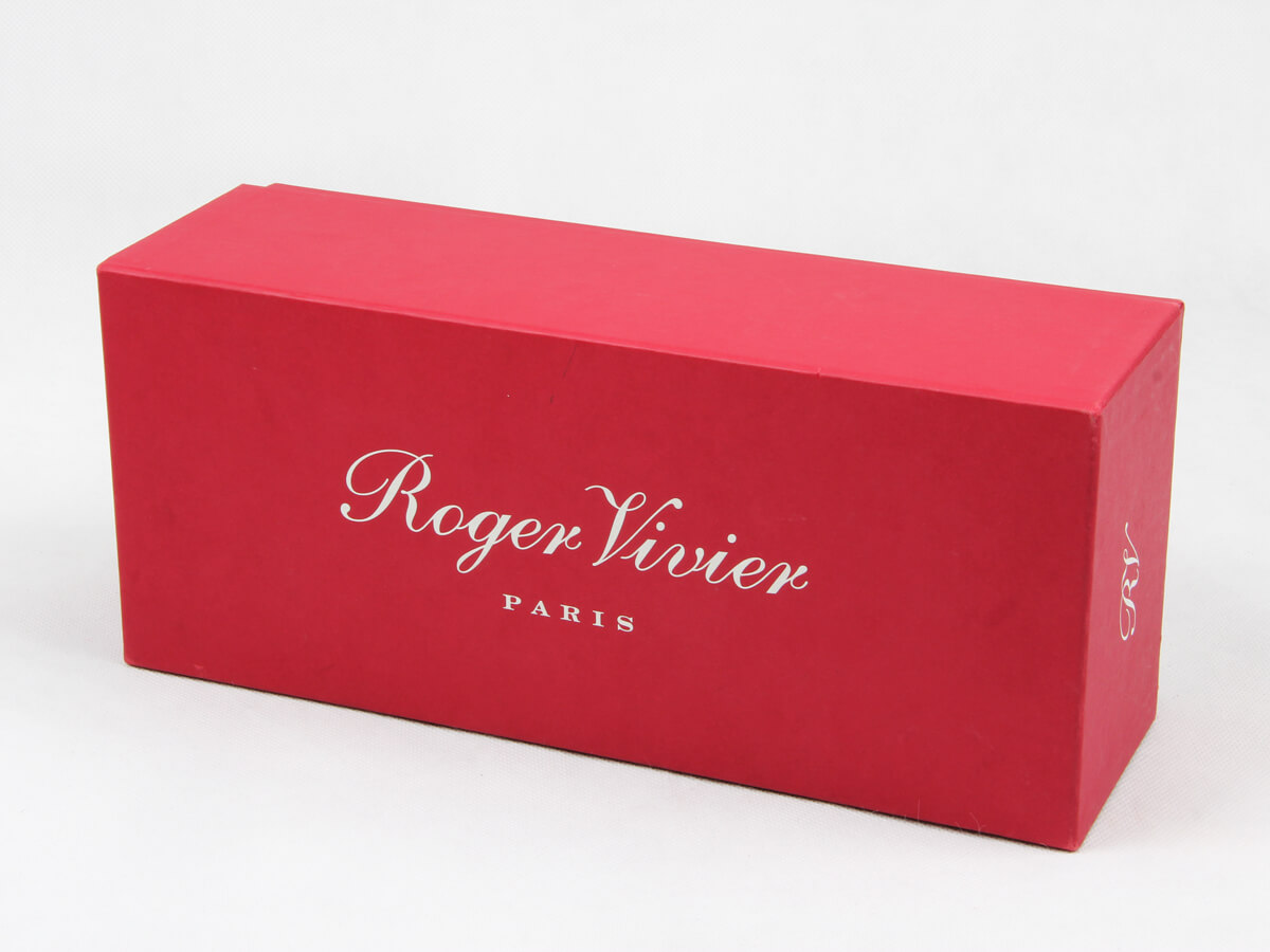 Coated Paper Women Shoe Packaging Boxes LOGO Printed