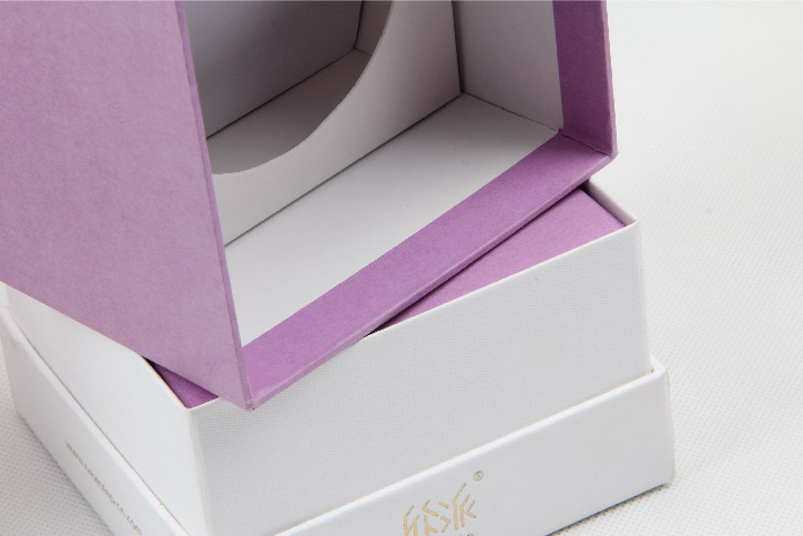 Colorful Candle Packaging Boxes With Lid Material