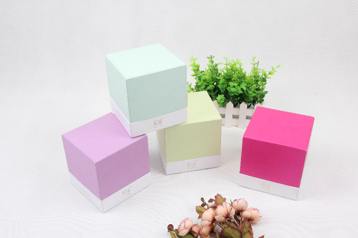 Colorful Candle Packaging Boxes With Lid